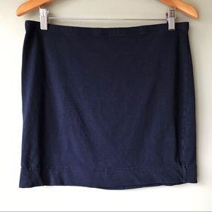 H & M Navy Blue Skirt